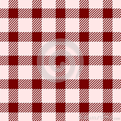 Red square vintage seamless pattern