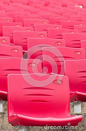 Red Stadium Chairs