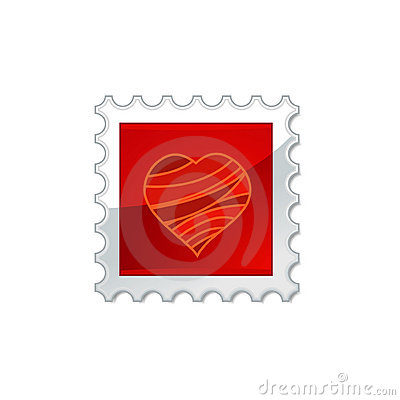 Red Stamp Stock Photos - Image: 12448973