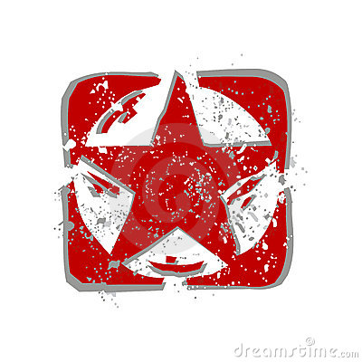 red star (vector)
