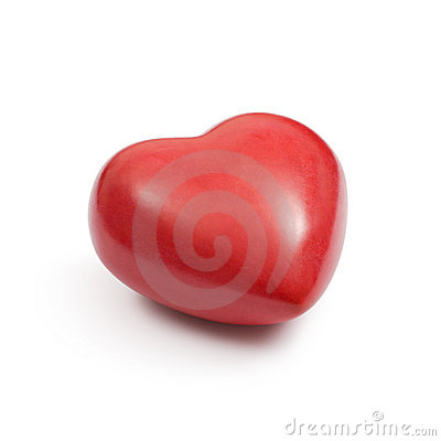 Free Red Stone Heart Stock Photo - 17431760