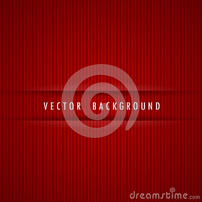 Red strips background vector illustration