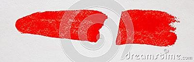 Red stroke