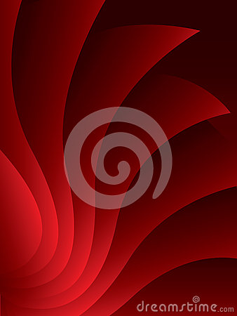 Red stylish abstract background
