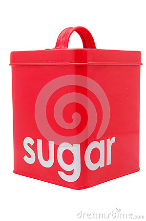 Red sugar Container