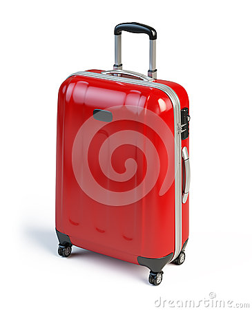 Free Red Suitcase Stock Photos - 30142283