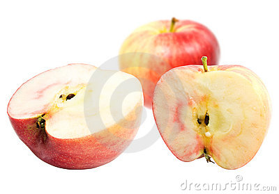 Red sweet apples