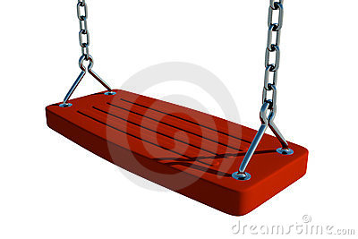 Red Swing Seat
