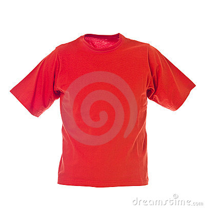 Free Red T-shirt Royalty Free Stock Photography - 18820777