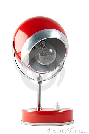Free Red Table Lamp Stock Image - 5005411