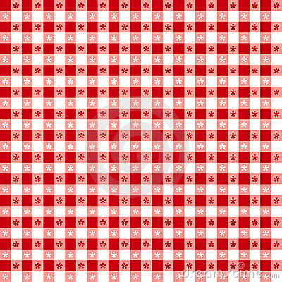 Free Red Tablecloth Seamless Pattern Stock Photography - 5538652