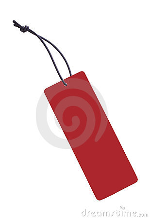 Free Red Tag Royalty Free Stock Image - 1837986