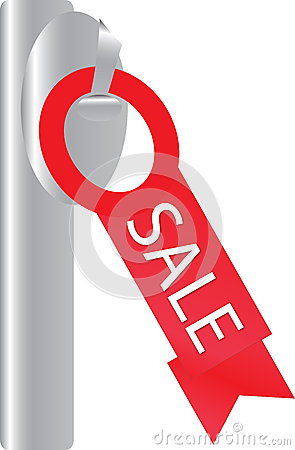 The red tag SALE