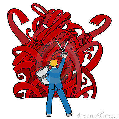 Red Tape Monster