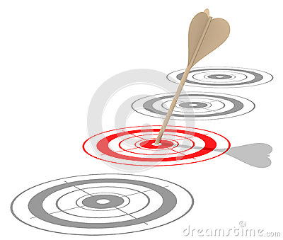 The red target