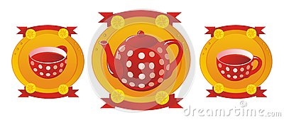 Red tea service