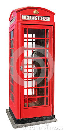 Free Red Telephone Box Stock Images - 31549434
