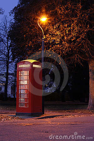 Free Red Telephone Box Royalty Free Stock Photo - 403425