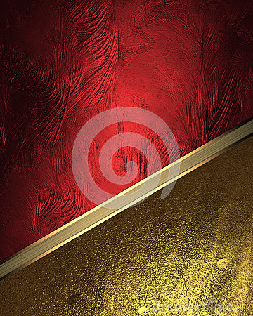 Free Red Texture With Gold Ornaments. Element For Design. Template For Design. Copy Space For Ad Brochure Or Announcement Invitation, A Stock Images - 66005474
