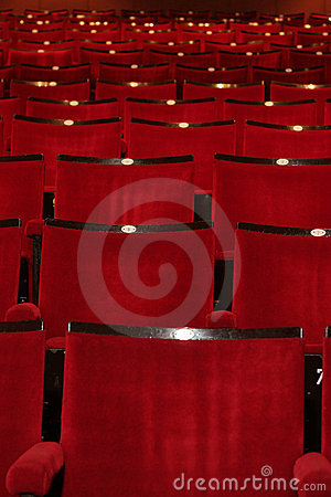 Free Red Theatre Royalty Free Stock Image - 165946