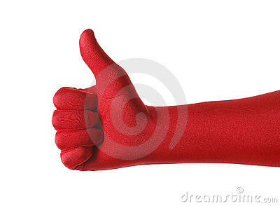 Red Thumb Up
