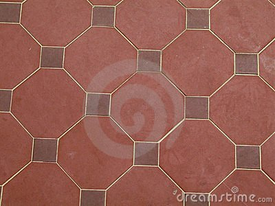 Red tile pattern