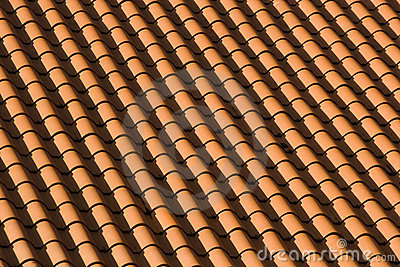 Red Tile Roof Patterns