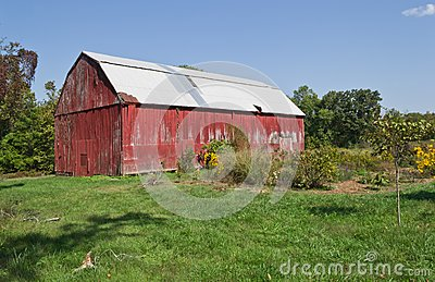 Red Tobacco Barn