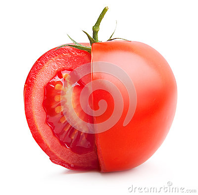 Red tomato.