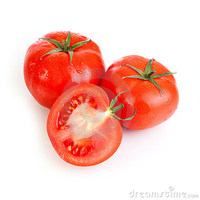 Red tomato vegetable fruits