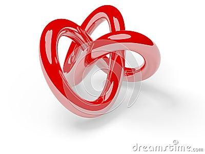 Red torus knot