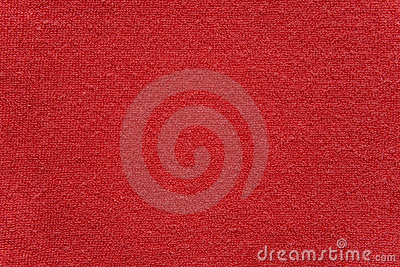 Red towel cloth texture