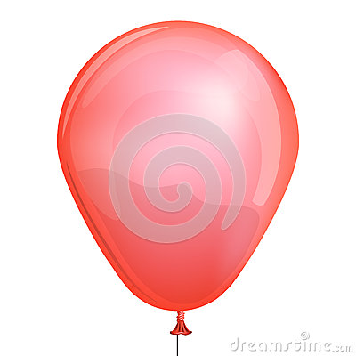 Red toy balloon