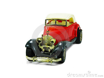 Red toy car 3