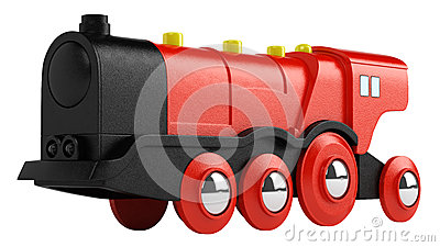 Red toy engine