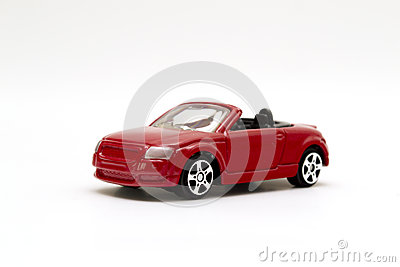 Red Toy sports car