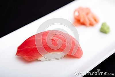 Red tuna sushi