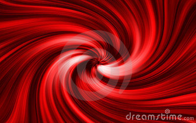 Red twirl background