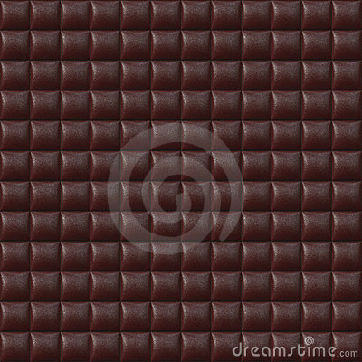 Red Upholstery Leather Seamless Pattern