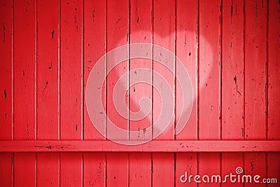 Red Love Valentine Heart Background Stock Photo