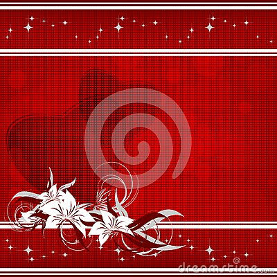 Red valentine s day backdrop