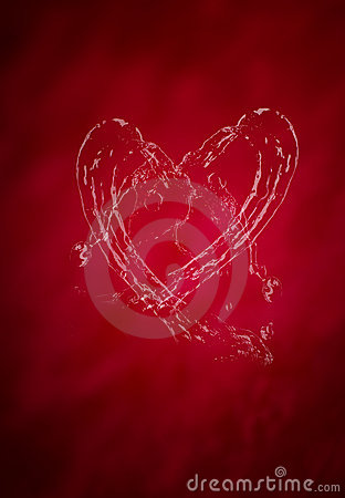 Red Valentine s day background