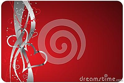 Red Valentines Background