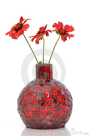 Free Red Vase Stock Photo - 21731970