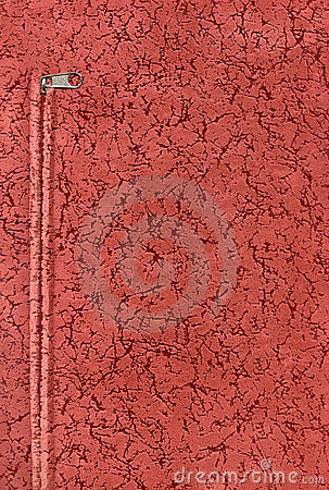 Red velour fabric texture