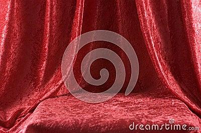 Red velvet Stage