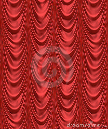 Free Red Velvet Theatre Curtain Royalty Free Stock Images - 3197039