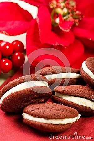 Free Red Velvet Whoopie Pies Stock Image - 12056951