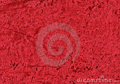 Red vibrant velvet.