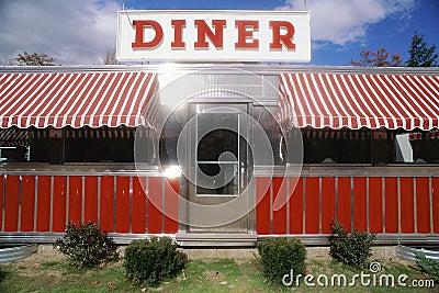 Red Vintage Diner